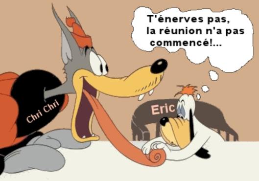 Réunion du Bureau de Sept. 2018